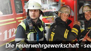 Feuerwehrgewerkschaft Banner