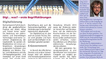Logo des Newsletter Landesfachbereich Gemeinden NRW