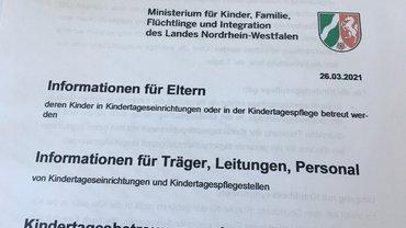 Offizielle Information Eltern KiTas NRW