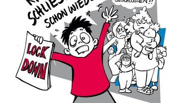 Illustration Lockdown Kita